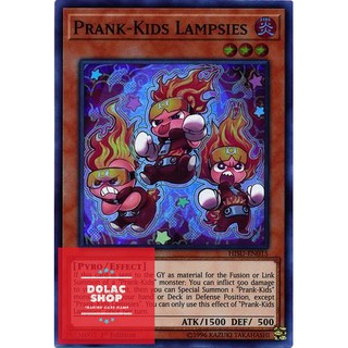 THẺ BÀI YUGIOH Prank-Kids Lampsies