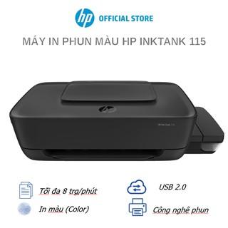 Máy in màu HP Ink Tank 115, 1Y WTY - 2LB19A - Hàng Chính Hãng