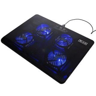 [ Siêu_Sale] Đế Tản Nhiệt Laptop 4 Quạt Cực Mạnh V4