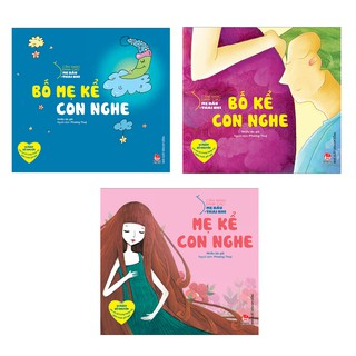 Sách-Combo 3 cuốn Cẩm nang dành cho mẹ bầu và thai nhi : Bố mẹ kể con nghe + Mẹ kể con nghe + Bố kể con nghe
