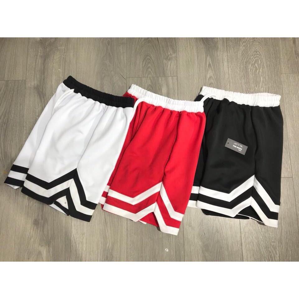 quần đùi unisex phong cách hiện đại