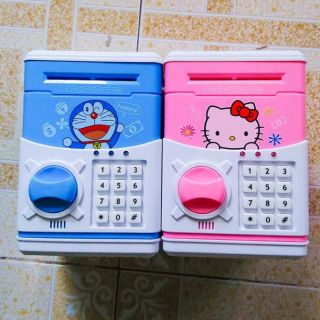 Két sắt mini cartoon bank cho bé tiết kiệm