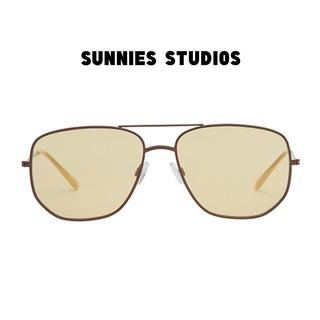 Kính mát Sunnies Studios Gọng Phi Công Dom Flax thumbnail