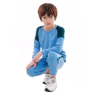 Bộ quần áo bé trai Narsis KE9047 xanh nhạt