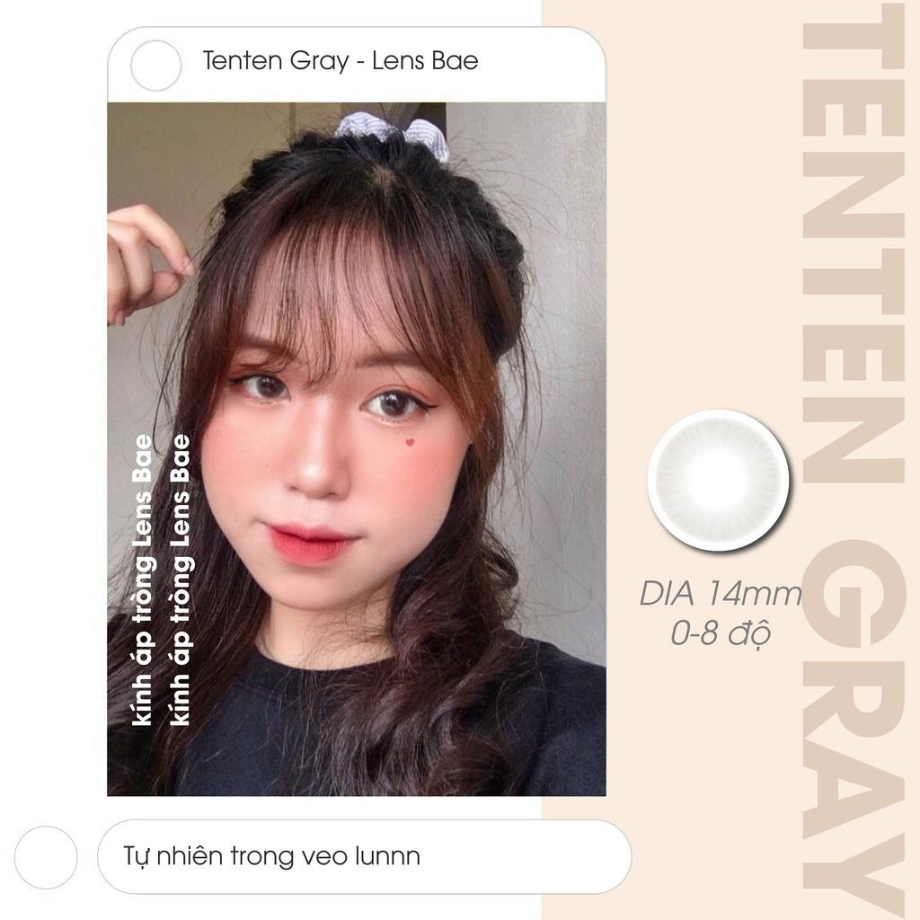 Tenten주네 세 | Gray | Kính áp tròng nội địa Hàn