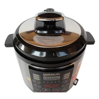 Nồi áp suất Goldsun CD2601 6L Điện tử- Hàng chính hãng