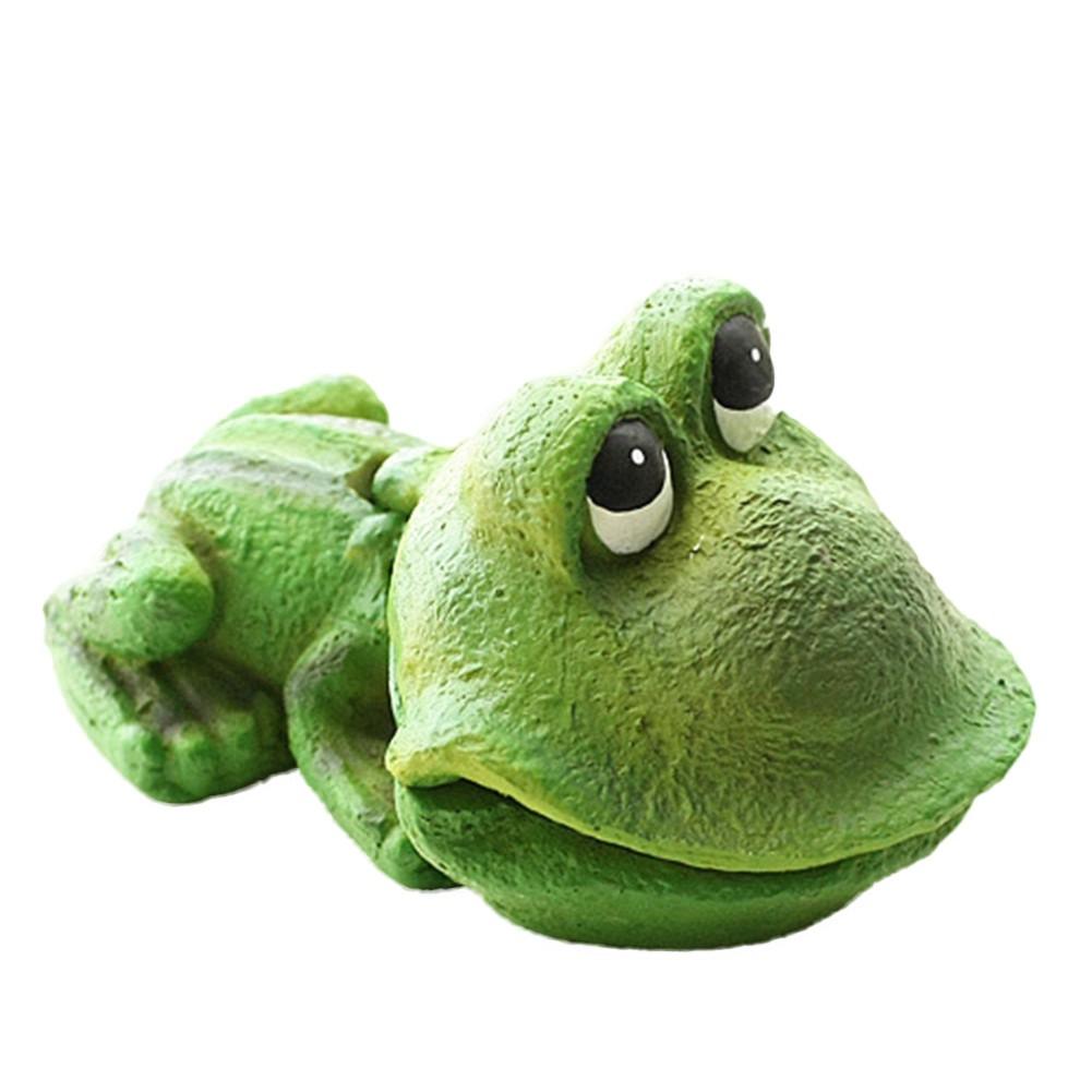 Phụ kiện trang trí bể cá tạo hình chú ếch dễ thương