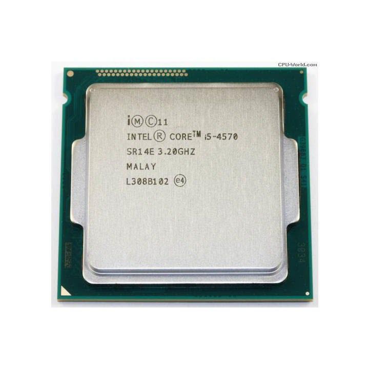 Bộ vi xử lý CPU i5 4570 Socket 1150 bảo hành 12 tháng tặng keo tản nhiệt