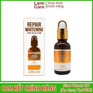 Tinh chất dưỡng trắng và làm đều màu da lebelage repair whitening ampoule 30ml - Lamicare