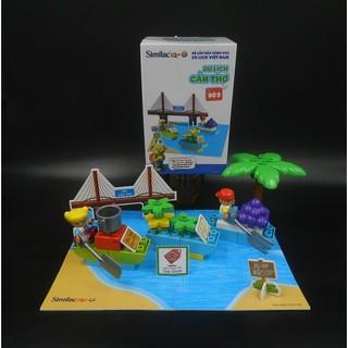 [ĐỒ CHƠI LEGO] BỘ LẮP RÁP DU LỊCH VIỆT NAM – Đồ khuyến mãi từ sữa Similac