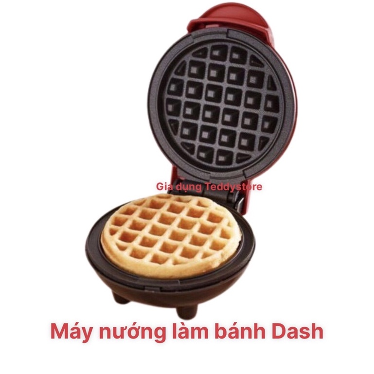 Máy nướng bánh Dash màu đỏ bảo hành 01 tháng