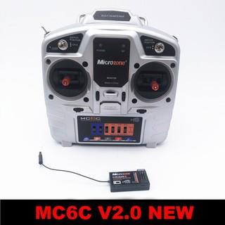 Bộ điều khiển Microzone MC6C 2.4G 600-700m 6 kênh bản V2.0