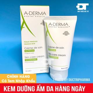 Kem dưỡng ẩm cho da hàng ngày ADerma Fragile Skin 50ml