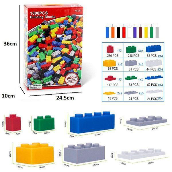 [RẺ NHẤT HÀ NỘI] Bộ Lego xếp hình 1000 miếng xuất Úc   HÀNG MỚI