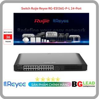 Thiết bị mạng Switch Ruijie Reyee RG-ES126G-P-L 24-Port Gigabit Unmanaged Switch thumbnail