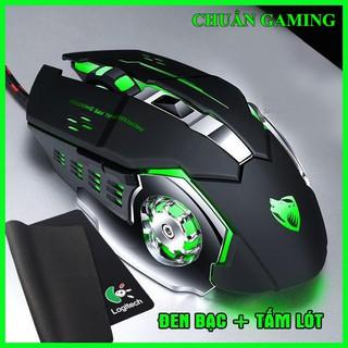 chuột Esports LED độc đáo, Thiết kế đẹp mắt tựa như Siêu Phẩm, chuột Gaming