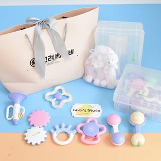 [Hà Nội]- Set đồ chơi xúc sắc, gặm nướu Baby Goryeo – Đồ chơi trẻ em
