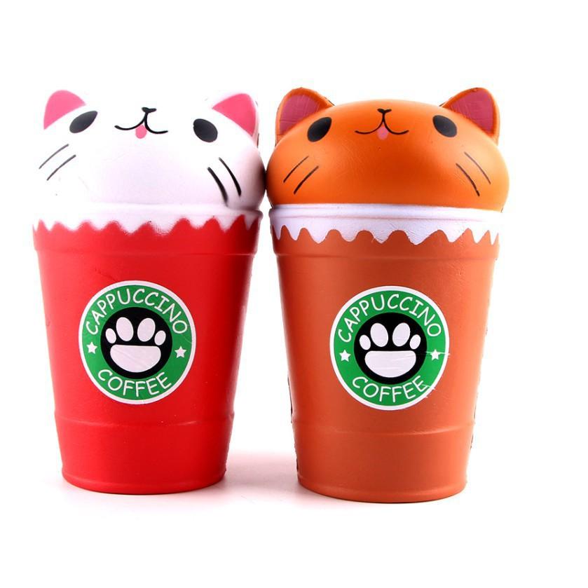 Squishy Ly Cà phê Capuchino - shopee.vn/minhpua123