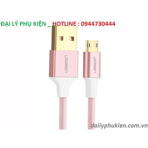 Cáp sạc Micro USB cắm 2 chiều dài 0,5m Ugreen 30854