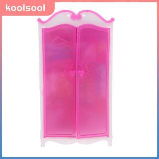 Closet Wardrobe Princess Bedroom Furniture For 30cm Dollhouse