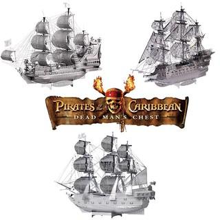 """COMBO """"Cướp biển Caribbean"""" _ Mô hình lắp ráp 3D kim loại _ Piececool"""