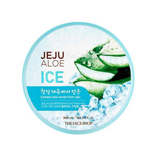 Gel Dưỡng Đa Năng TheFaceShop Jeju Aloe Refreshing Soothing Gel 300ml