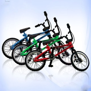 💗Sunei💗Mini Functional Alloy Finger Mountain Bike BMX Bicycle Model Ceative Toy Gift