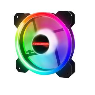Quạt Tản Nhiệt, Fan Case Coolmoon V4 Led RGB Dual Ring + Led Rainbow thumbnail