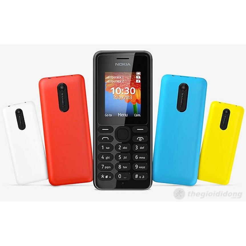 Điện Thoại Nokia 108 Zin 2 Sim + Bh 3 Tháng