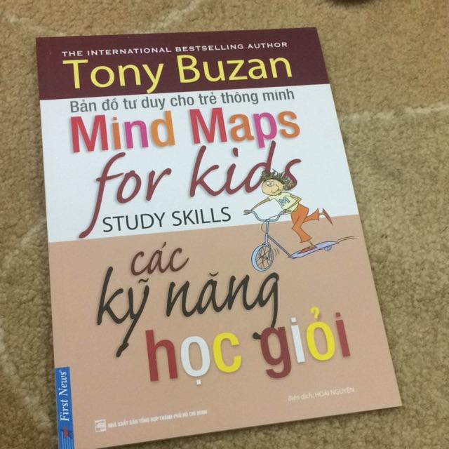 Sách- bản đồ tư duy cho trẻ thông minh các kỹ năng học giỏi