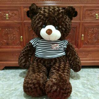 Gấu teddy cao 1m20cm cực kì dễ thương giá cưc kỳ yêu thương 200k