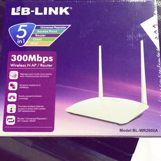 Bộ thu phát wifi lb-link -WR2000A [ hãng phân phối chính thức]