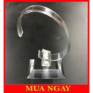 ĐẾ TRƯNG ĐỒNG HỒ MICA GỌNG DẺO XOAY 360º DT01