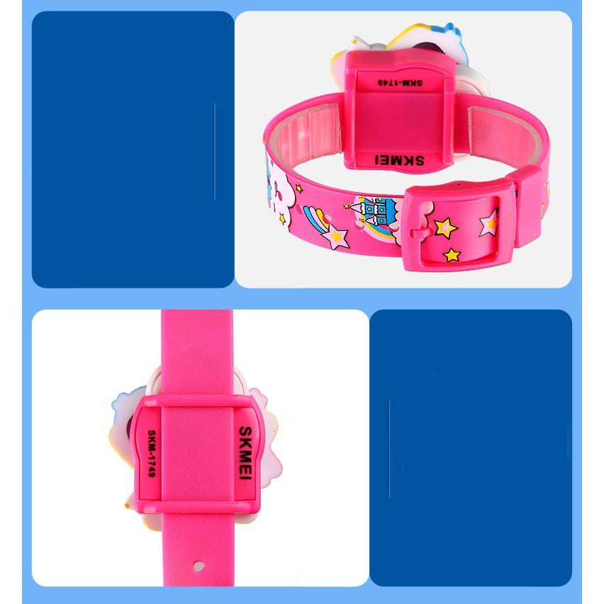 Đồng hồ trẻ em Skmei 1749 thể thao điện tử dây cao su thời trang