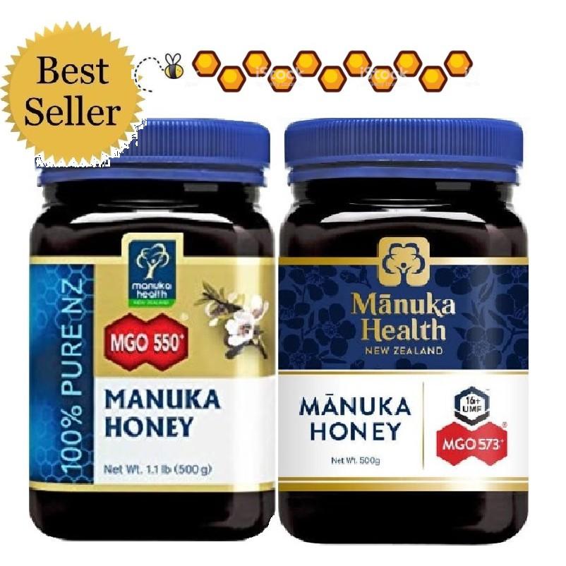 Mật ong MANUKA New Zealand MGO 573+ 500gr Manuka Health Honey Mật ong Úc UMF Kfactor 400+ 263+ 115+