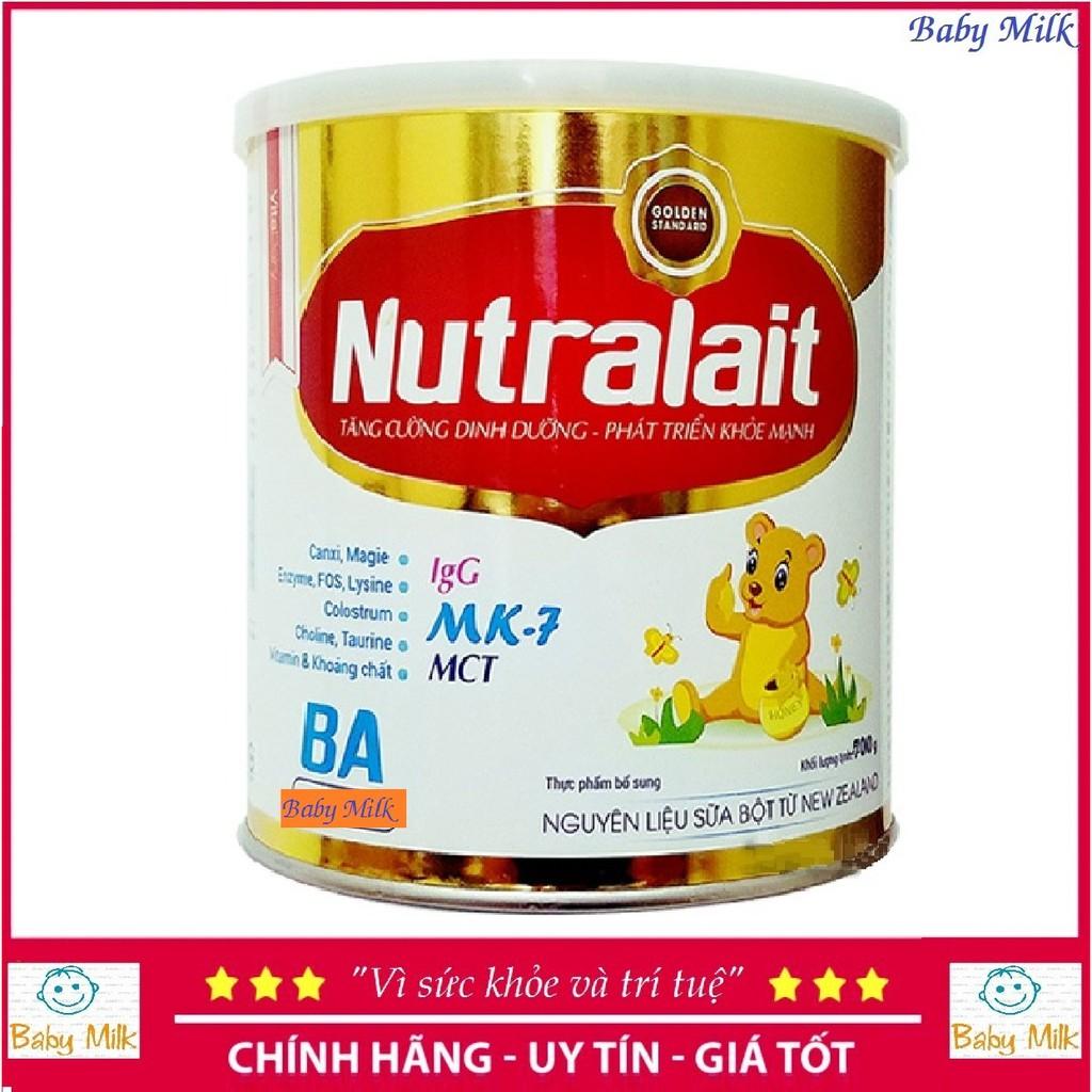 Sữa bột Nutralait BA 700g