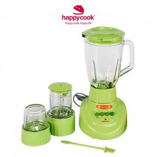 Máy xay sinh tố Happy Cook HCB-150B 1,5 lít xanh lá - hàng chính hãng