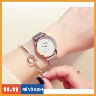 [Hàng chính hãng] [HOTTREND] Đồng hồ nữ JAEFOR kim loại - có size nam thumbnail