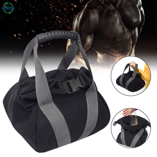 ydmtp Adjustable Kettle Bell Sandbag Portable Weight Weightlifting Dumbbell Fitness Body Building Training @vn