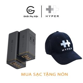 Sạc Đa Cổng HYPERJUICE GAN 100W 3C1A, PD PPS QC3.0 STACKABLE HJ417 - HÀNG CHÍNH HÃNG thumbnail