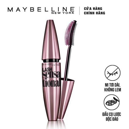 Mascara làm tơi mi Maybelline Lash Sensational Đen 10ml _ 6902395395935