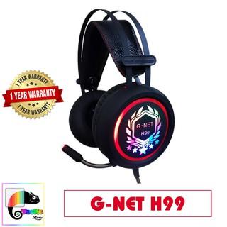 Tai nghe Gaming G-Net H99 Led nhiều màu I Head phone GNET H99 RGB LED I Gnet H99 7.1 Gaming Headset thumbnail