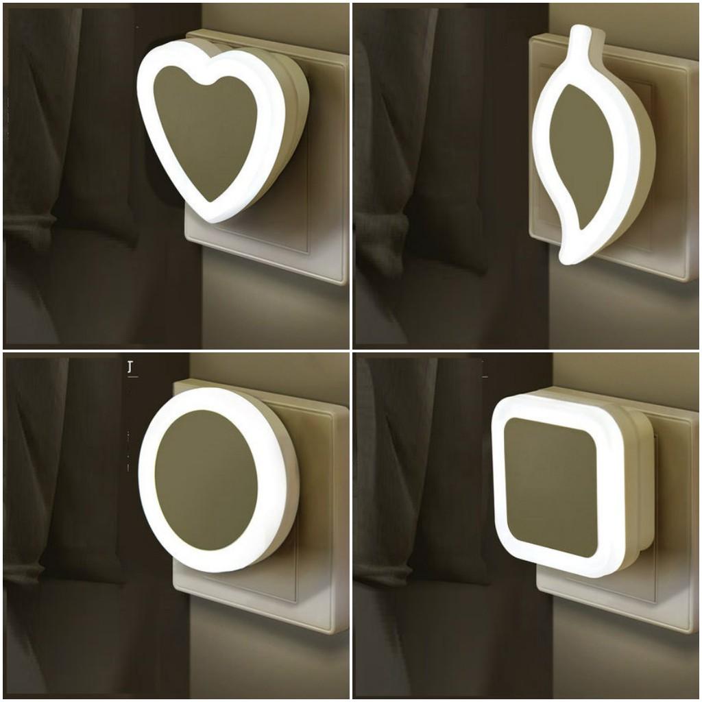 Đèn ngủ LED cảm biến ánh sáng tự động bật tắt