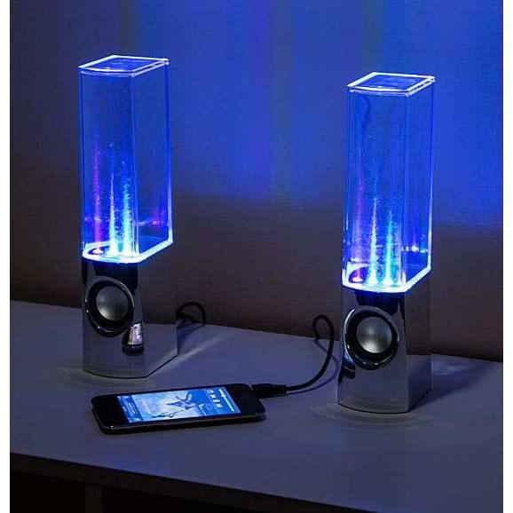 Loa vi tính nhạc nước 3D