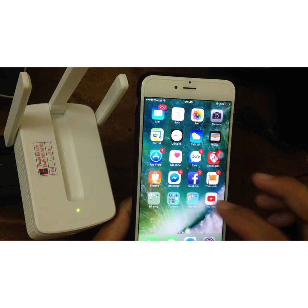 [Nhập ELCLMAY hoàn 30K xu đơn từ 200K][ Hàng Chính Hãng ] Kích tăng sóng wifi Mecury 3 râu 300M...
