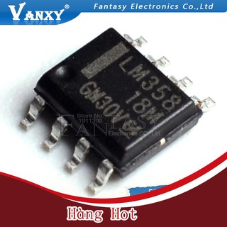 [ Hàng Hot ] Set 50 vi mạch Lm358Dr Sop8 Lm358 Sop Lm358Dt Sop-8 Smd Lm358Dr2G chất lượng cao thumbnail