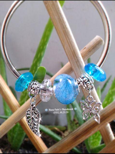 Set 10 charm treo kiểu bạc cổ ngẫu nhiên trang trí handmade, vòng tay, dây chuyền, móc khoá....