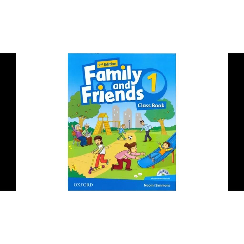 Trọn bộ Family and Friend second edition từ 1 đến 4