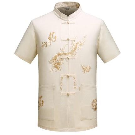 ÁO CHO ÔNG GIÀ, ÁO NAM TRUNG NIÊN  LOẠI 1( áo cổ tàu 3 màu)