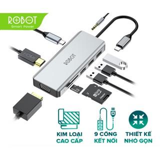 Bộ Chia USB HUB 9 trong 1 HT390 Thiết bị chuyển đổi đa năng MacBook Laptop - BẢO HÀNH 12 THÁNG